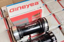 GINEYEA Bearing Bottom Bracket BB86/90/BB92 41mm OD Alloy Cups 24mm through Axle fits 86-92mm MTB Road bike BB parts
