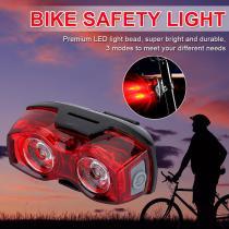 Bicycle Taillight Luminative Distance 1000m Rainproof Safety Warning Headlight Led Cycling Light MTB Rear Saddle Lamp 3 Models