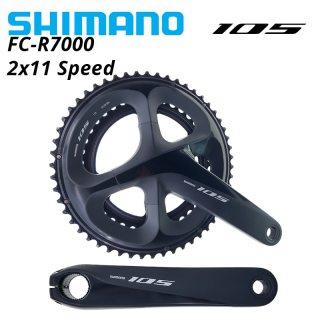 SHIMANO 105 HOLLOWTECH II FC-R7000 Road Bike Crankset 2x11 speed R7000 front chainwheel 50-34T 52-36T 11S 170mm 172.5mm 11v