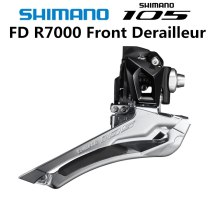 Shimano 105 FD R7000 F Front Derailleur 2x11 Speed Bicycle Front Derailleur  5800 5801 Braze on 31.8MM 34.9MM Clamp Band