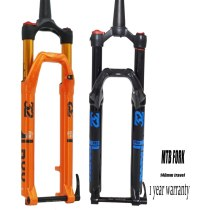 Magnesium Alloy MTB Bicycle Fork Supension Air 27.5er Inch Mountain 100mm Fork HL RL Control For Bicycle Accessories