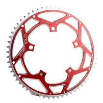 Qikour 60T Single Speed 130BCD Chainwheel CNC Aluminum Alloy Folding Bike Bicycle Crankset Cycling Chain Ring