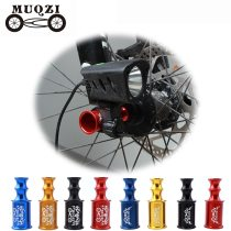 MUQZI Bicycle Hub Quick Release Axis Front Wheel Lamp Holder Cycling Bike Extender Extension Light Mount