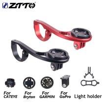 ZTTO Bicycle Computer Mount Holder For GARMIN Edge Cat Eye Bryton Fit GoPro Action Cameras Light Holder 25.4/31.8mm Handle