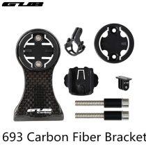 GUB 693 bike speedometer Holder For GARMIN CATEYE Bryton GoPro Stand Carbon Fibre Road Bike MTB Mount camera Flashlight bracket