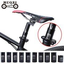 MUQZI Mountain Bike Road Bike Seat Post Tube Seatpost Reducing Sleeve Adapter Adjust Diameter 27.2 turn 30.4 turn 31.6 etc