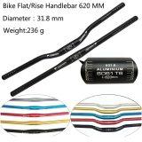 FMFXTR Moumtain Bicycle Handlebar Aluminum Alloy Flat/Rise MTB Road Bike Handlebar 25.4/31.8 * 620mm Cycling Accessories