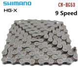 Shimano HG53 CN-HG53 9 Speed 112/114 Links Bicycle Wear-resistant Narrow High Strength Bike Chain Accessories