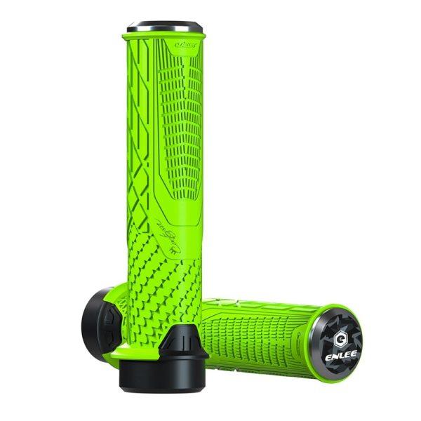 ENLEE Bike Handlebar Grips Comfortable TPR Locking MTB Handlebars Grip Bike Grips for MTB BMX