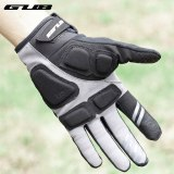 GUB Sports Touch Screen Long Full Fingers Gel Sports Cycling Gloves Women Men Bicycle Gloves MTB Road Bike Riding Racing Gloves