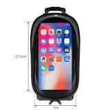 GUB 923 Bicycle Phone Bag Bike Front Frame Bag Waterproof Bicycle Top Tube Cycling Touchscreen Phone Mount Case