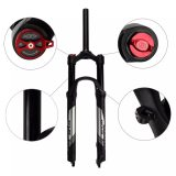 GUB 27.5 Inch Aluminum Alloy Bicycle Front Fork MTB Mountain Bike Suspension Fork Air Damping Front Fork Manual Control 2020