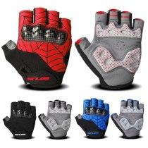 Gub S038 Anticollision Gloves Adult Anticollision Reinforced Gloves Short Gloves Half-finger Gloves Riding Equipment