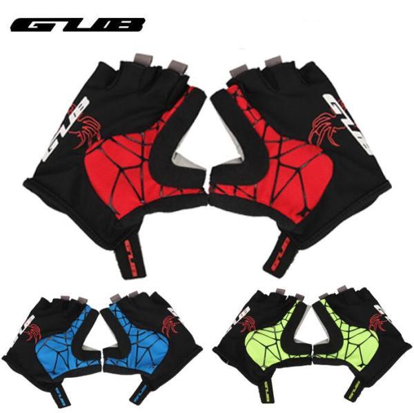 GUB S036 Cycling Glove Half Finger s Soft MTB Road Bike  Breathable Mitten Man Women Wahable Lycra