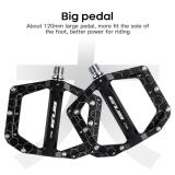 GUB MT886 Ultralight Seal Bearings Bicycle Bike Pedals Cycling Nylon Road Bmx Mtb Pedals Flat Platform Bicycle Parts Accessories
