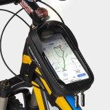 GUB 922 Rainproof bicycle Bag Touchscreen Phone Case Cycling Bags Bike Frame Bag MTB Bike Top Tube Handlebar Bicycle Bag