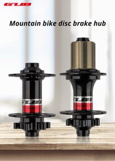GUB 1351 Mountain Bike Disc Brake Hub Quick Release 32H 32 Holes  Sealed Bearing bicycle front rear parts shimano 8s 9s 10s 11s