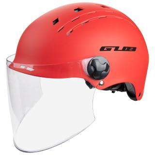 GUB TS-8 Bike Cycling Helmet With Lens Glasses Ultralight In-Mold Men Women Applicable Head Safety Equipment