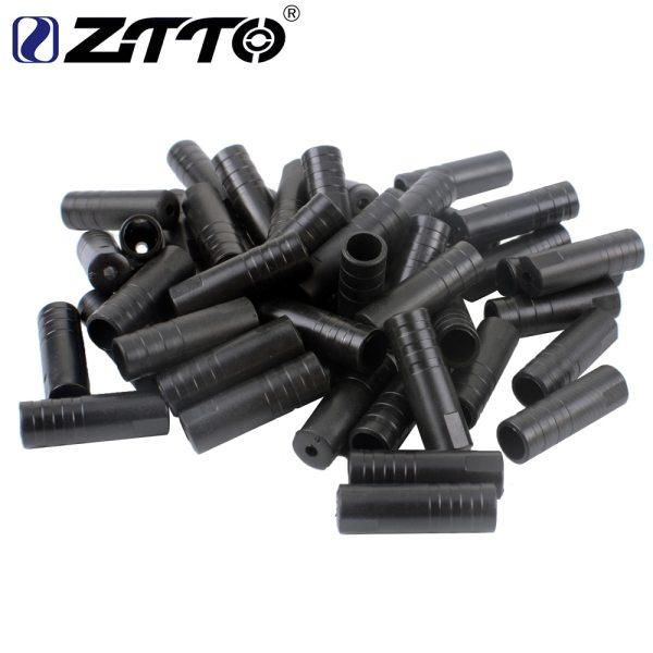 ZTTO Bicycle Shift cap Brake Cable cap MTB Shifting Cable Housing Caps Plastic End Tips Road bike brake hose end Cap Crimp 100pc