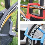 Folding Lock Bicycle Lock with Six-Section Folding Lock Mountain Bike Lock Joint Riding Equipment Motorcycle Electric Lock