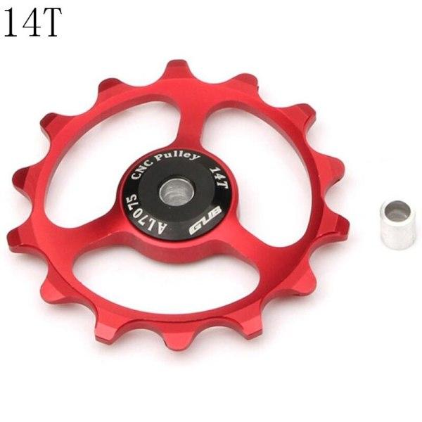 GUB 14T MTB Bicycle Rear Derailleur Jockey Wheel 9/10/11 Speed Guide Pulley Alloy CNC For for Shimano SRAM Road Bike