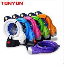 TONYON TY561 lock bicycle mountain ruler lock color lock anti-theft lock riding equipment accessoriesTONYON TY561 lock bicycle m