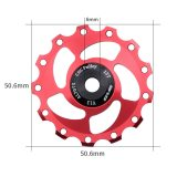 GUB V13 Bicycle Rear Derailleur Guide Roller Pulley Wheel 13T Aluminum Alloy MTB Road Bike 9 10 11 Speed Cycling Accessories