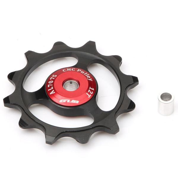 GUB 12T MTB Bike Rear Guide Wheel 9/10/11 Speed CNC AL7075 Aluminium Alloy Bicycle Derailleur Jockey Wheel