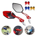 Bike Rearview Mirrors Universal Motorcycle Scooter MTB Road Bicycle Rear View Flexible Cycling Bike Handle Rearview Mirrors