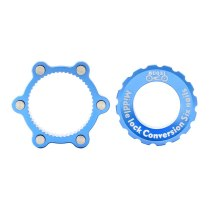 MUQZI 44MM 6 Nail Centerlock Adapter Replacement For Fitting Six-pin Disc Brake Rotor On Centrelock Hub With Cover