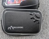 Mobile Phones Bike Front Frame Bag Waterproof Bicycle Top Tube Cycling Touchscreen Phone Mount Case