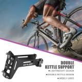 GUB G-26 Bicycle Bottle Cage Adapter Mount Aluminum Alloy Rear-mounted Extender MTB Road Bike Double Water Bottle Bracket