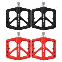 GUB GC002 2pcs Bicycle Pedal Anti Slip Cycling Nylon Flat Platform Pedals Ultralight Seal Bearings Bike Parts MTB Accessories