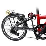 Litepro Folding Bike Easy Wheel 60mm Aluminum Alloy Bearing Easywheels For Modifled Brompton Bicycle Portable Push Wheels