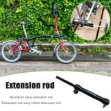 Litepro  Extension Rod For Brompton Rear Cargo Rack Easywheel Telescopic Rod