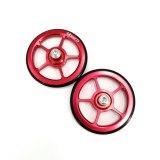 Litepro Brompton Easywheel Extension Bar Telescopic Rod Easy Wheel Aluminum Alloy Rear Racks Wheel Black Red Gold Silver