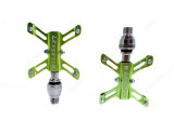 Litepro BMX Folding Bike Aluminum Alloy Non-slip Accessory MTB Mountain Universal Bicycle QR Pedal Sealed Bearing Butterfly