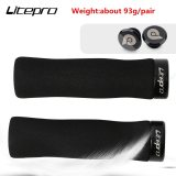 Litepro Folding Bicycle Ultralight Unilateral Locking Grip Cover Mountain Bike Handlebar Lockable Sponge Grips Plugs