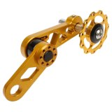 Litepro Chainring Tensioner Rear Derailleur Zipper Folding Bike Chain Guide Pulley Bike Parts For Oval Tooth Plate Accessory