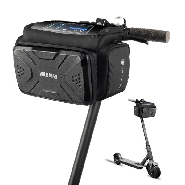 Handlebar Shoulder Bags Tube Phone Camera Portable Waterproof Bicycle Bag Front Waterproof Cycling Elements for WILD MAN