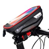 WILD MAN 6.5'' Bicycle Handlebar Rainproof Cell Phone Pouch Bag Front Tube Cycling Bike Phone Case