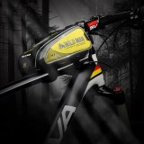 WILD MAN Bicycle Bag Waterproof 4.7-6.2  Touch Screen Mobile Phone Bag MTB Road Cycling Front Top Tube Frame Bag Cellphone Bag