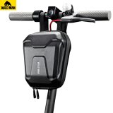WILD MAN Universal Bicycle Electric Scooter Hanging Bag 2.5L EVA Hard Shell Rainproof Pannier Pouch for M365 ES1 ES2 ES3 ES4
