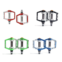 MPEDA 930 Bicycle Pedal MTB Mountain Bike Pedals Aluminum Alloy CNC Bike Footrest Big Flat Ultralight Cycling Pedals On For Outdoor Sports