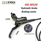 TEKTRO HD-M520 MTB Bicycle Hydraulic Disc Brake 800mm/1500mm Aluminum Alloy 160/180/203mm Rotor Mountain Bike F/R Brakes