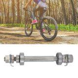 Mountain Bicycle Solid Metal Axle Road Bike Wheel 6000 Bearing Hubs Bike Parts Front Wheel