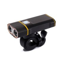 1200LM USB Bike Light 2x T6 LED Bicycle Lights With Rechargeable Battery Cycling Front Light