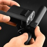 USB Rechargeable Bicycle light Handlebar LED Bike Front Light Built-in Battery