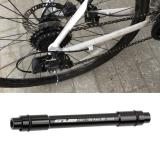 GUB TZ21 Quick Release Skewer High Precision Universal Aluminum Alloy 12mm to 9mm Wheel Hub Rod for Road Bicycle eje bicicleta