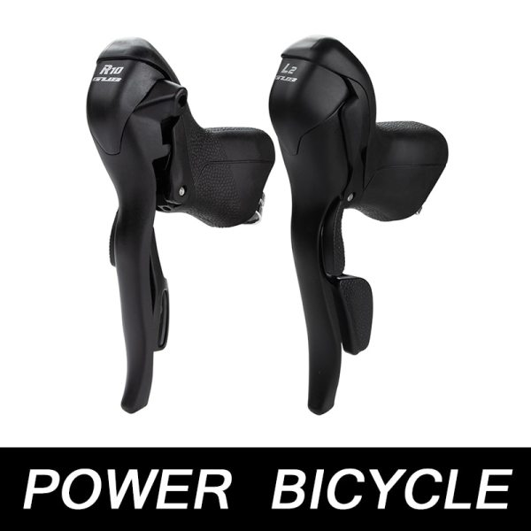 Suitable For Bicycles With 22.2-23.8mm Handlebars  2x10 Models Of 10-Speed Bike With Dual-control Lever Road Bicycle Gear Lever